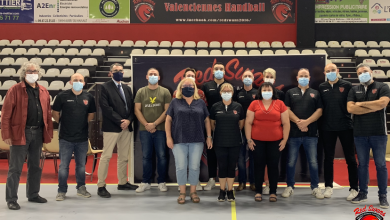Photo de Nouveau staff au Valenciennes Handball