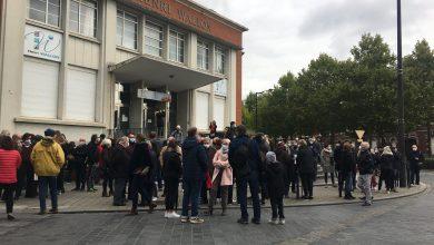 Photo de Valenciennes – Un rassemblement à la mémoire de Samuel Paty