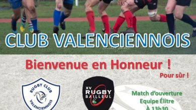 Photo de (Annulé) Rugby – RC Valenciennois vs XV Bailleulois