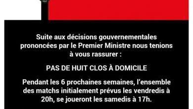 Photo de Denain Voltaire : pas de huis clos pour les semaines à venir…