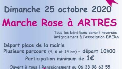 Photo de Artres – Marche Rose le 25 octobre
